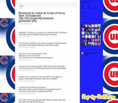 Twitter Backgrounds Chicago Chicago Cubs Twitter